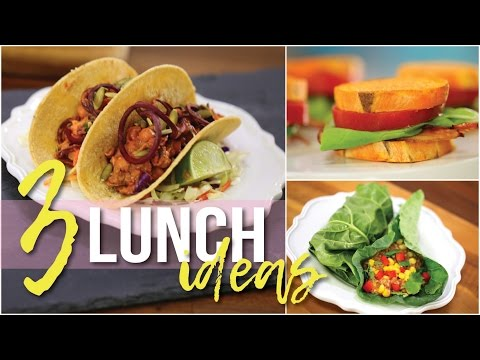 3 Healthy Lunch Ideas! 28 Day Reset Approved w/ Vegan Options