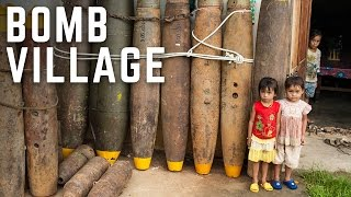 A Village Made Out Of Bombs