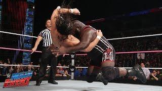 Mark Henryගේ තරගයට පිටුපා පහර දීම .. Mark Henry vs. Bo Dallas: WWE Main Event, Sept. 30, 2014