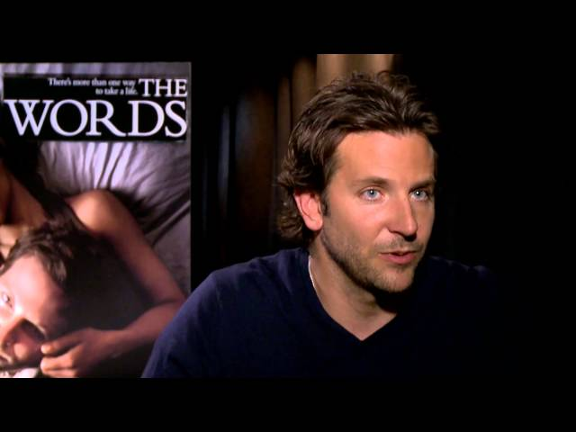 "Bradley Cooper: the journey into ""The Words"""