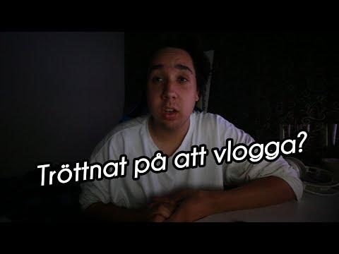 HAR JAG TRÖTTNAT PÅ ATT VLOGGA?! | VLOGG #246