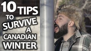 10 Tips to Survive a Canadian Winter | SweetSpotSquad