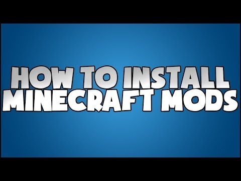 How To Install! Mods For Minecraft Super Easily!