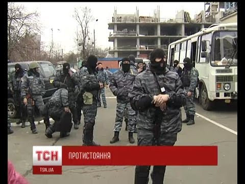 Ветерани-афганці втримали розлючених киян від атаки на луганський «Беркут»