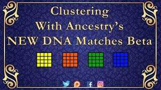 How to Cluster your DNA matches With Ancestry's New DNA Matches Beta