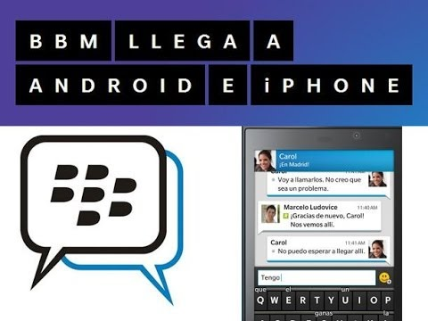 NOTICIA // Requisitos Para Descargar BlackBerryMessenger ( BBM ) Para Android o Ios