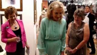 HRH Princess Michael of Kent Opens 150th SWA Exhibition - Mall Galleries - London