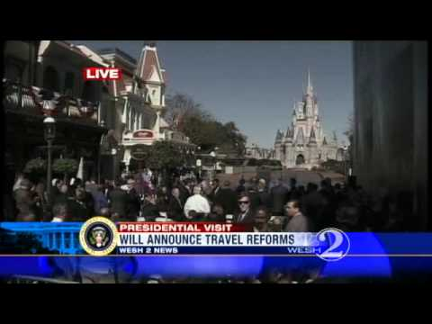 Obama To Talk Tourism At Disney Today