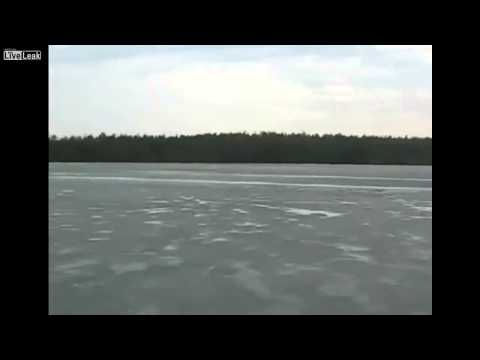 Loch Ness Monster Spotted in Frozen Lake in Russia