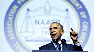 President Obama Addresses the NAACP's 106th National Convention