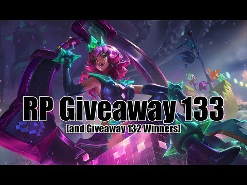 [CLOSED] RP Giveaway # 133 [League of Legends]