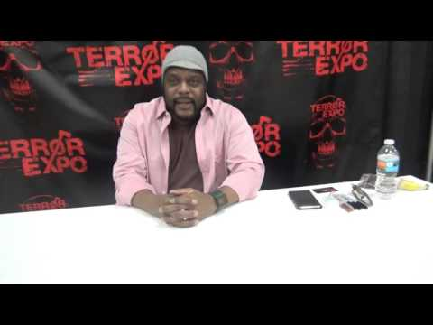 Chad Coleman interview from TerrorExpo 2016