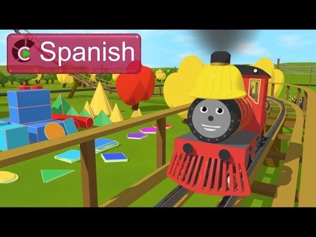 Learn about Shapes (SPANISH) - ¡Conozcan formas a través de la aventura de Shawn en la montaña rusa!