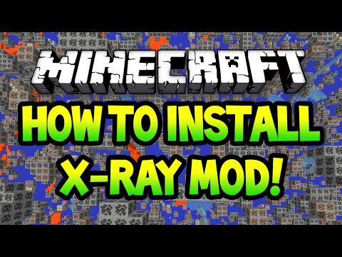 How To Install Xray Mod For Minecraft 1.7.10 (Download)