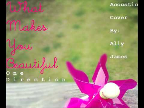 One Direction - What Makes You Beautiful (acoustic Cover By Ally James) video