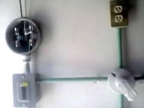 Instalación Eléctrica Residencial (Servicio Monofásico 110 volts)