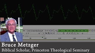Video: On Mark 16:9-20, RSV Bible places the 12 'longer ending' verses in a footnote - Bruce Metzger