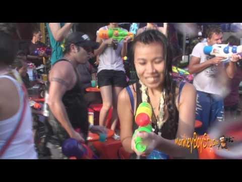 Khao San Songkran Festival Worlds Biggest Water Fight Thai New Year