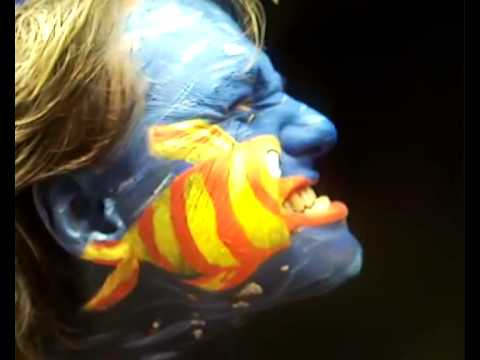 Bodypainting Fish Face