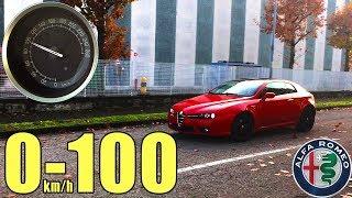 0-100 Alfa Romeo Brera 2.2 JTS 185 CV #3