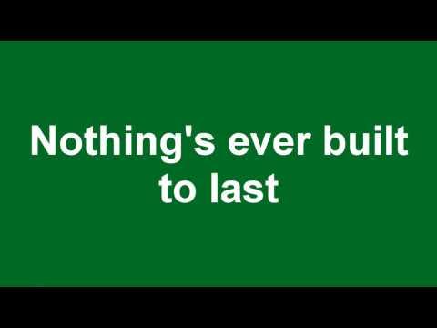 Green Day - 21 guns (lyrics)