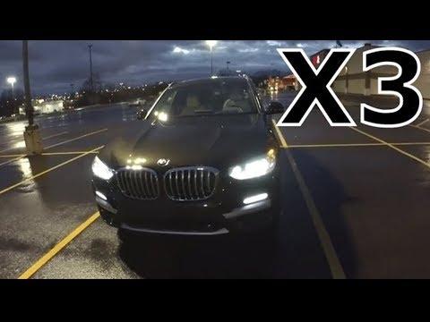 BMW 2018 x3 бездарный обзор часть 1