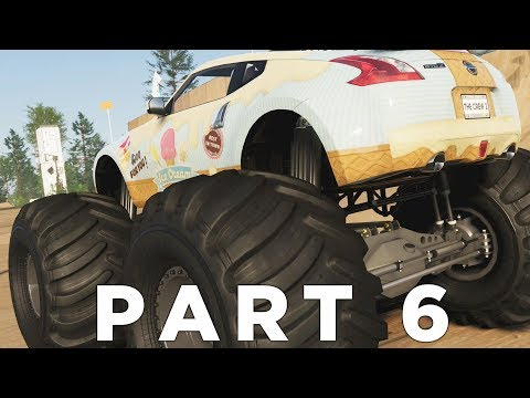 DRAG RACING & MONSTER TRUCKS in THE CREW 2 Walkthrough Gameplay Part 6 (Xbox One X)