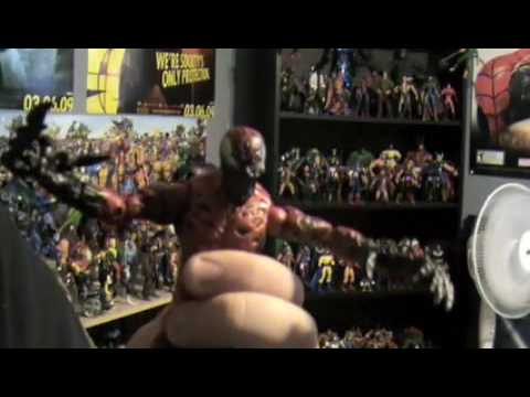 Marvel Legends Spiderman villians figure review # 2 Video