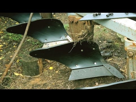 Вспашке Трандец! часть2   Дт-75 с пластиковыми отвалами плн 4.35 #СельхозТехника ТВ