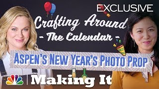 Get Party Ready and Create a New Year's Photo Prop - Making It