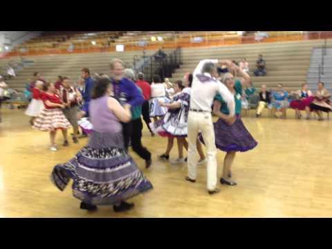 Pendleton USA West Square Dance 1