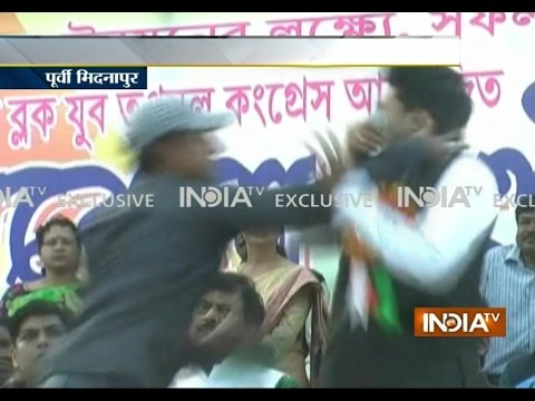 Exclusive: Mamata Banerjee's nephew slapped by youth during TMC rally in Bengal