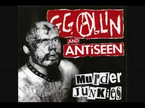 Gg Allin - War In My Head - Im Your Enemy
