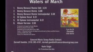 Sergio Mendes Feat Ledisi Waters Of March