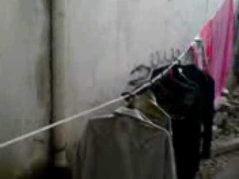 Refugee camp footage during Israeli Hamas battle, December 27, 2008