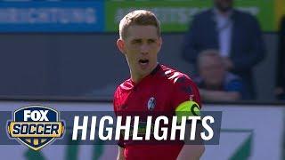 SC Freiburg vs. VfL Wolfsburg | 2017-18 Bundesliga Highlights