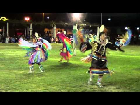Teen Girls Fancy Shawl - Ft. Duchesne 2013 video