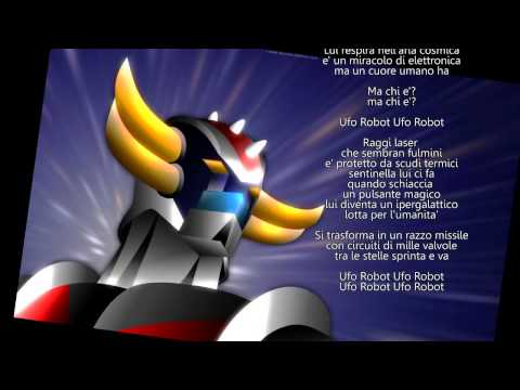 Goldrake, Ufo Robot - Sigla e testo