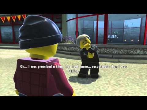 LEGO City Undercover Gameplay Walkthrough Part 13 - LIMO DRIVER!! (Wii U HD)