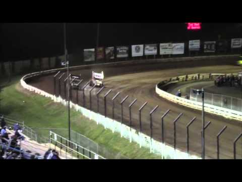 Williams Grove Speedway 410 and 358 Sprint Car Highlights 9-12-14