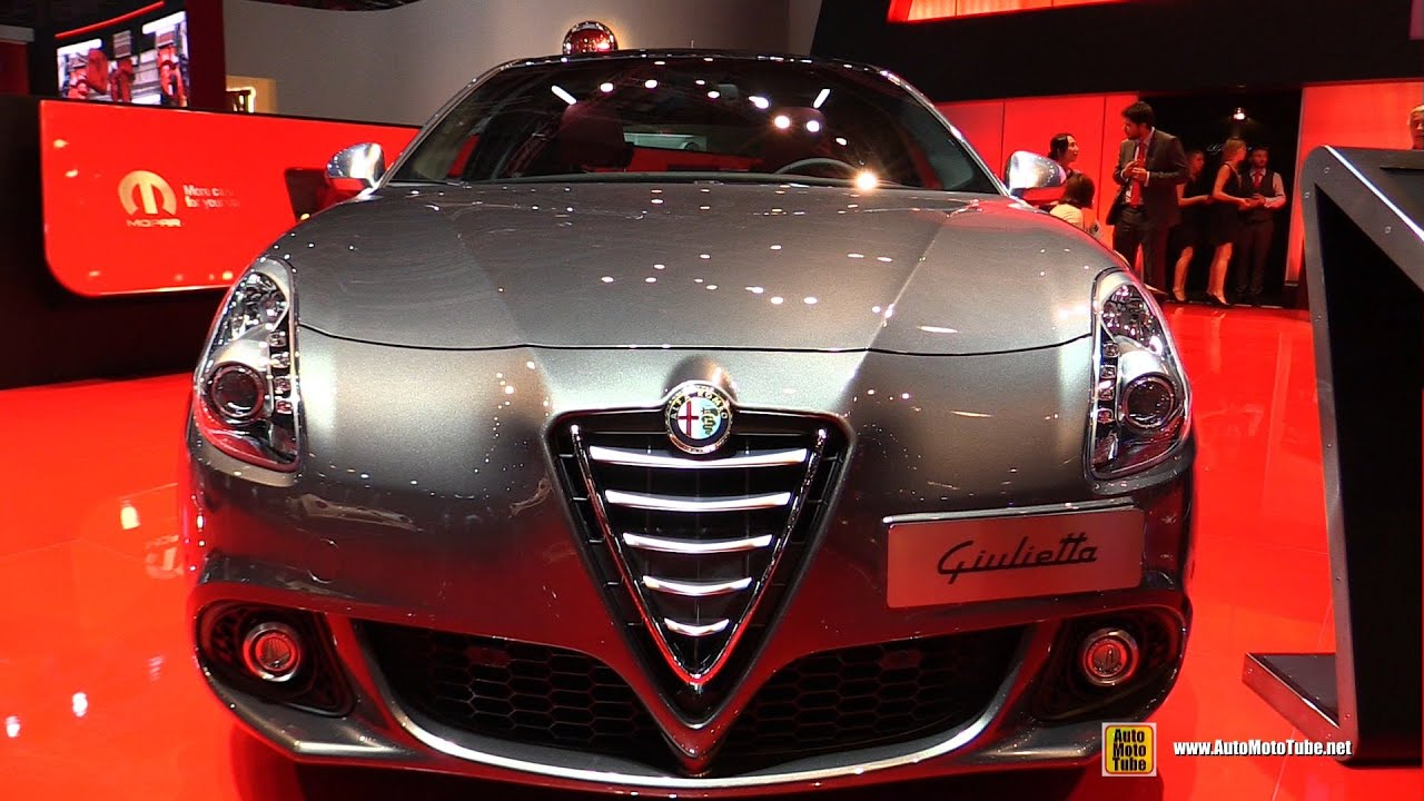 Alfa Romeo Los Angeles >> 2015 Alfa Romeo Giulietta Exclusive - Exterior and Interior Walkaround - 2014 Paris Auto Show ...