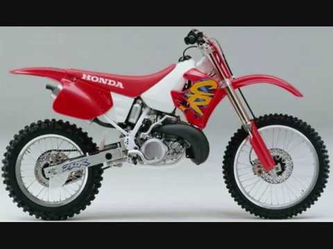 History of the Honda CR250