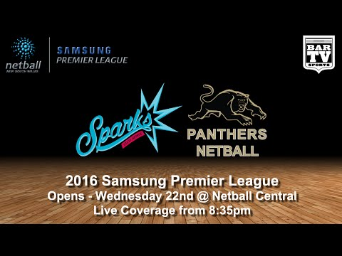 2016 SAMSUNG PREMIER LEAGUE - Open - Round 8 -UTS St George 'Sparks' v Panthers