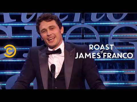 Roast of James Franco - Franco's Rebuttal - Uncensored