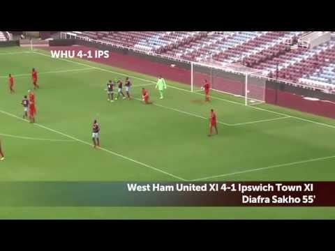 Amazing West Ham Tiki-Taka Goal - Alex Song, Ravel Morrison and Sakho