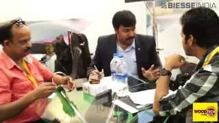 Biesse India at Woodtech 2014