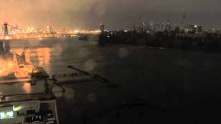 Superstorm Sandy Time-Lapse Hitting NYC