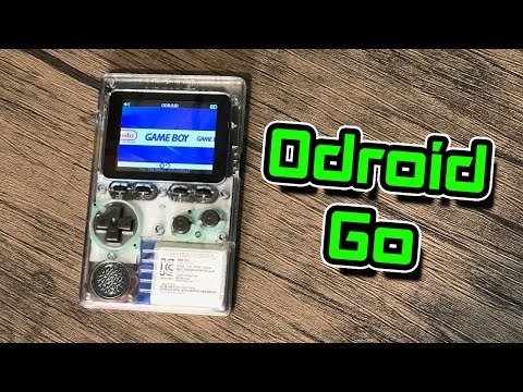 Odroid Go FIrst Look DIY Handheld Retro Gaming Console Review And Assembly