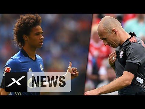 Nach Verletzung von Arjen Robben: Holt der FCB jetzt Leroy Sane? | FC Bayern München
