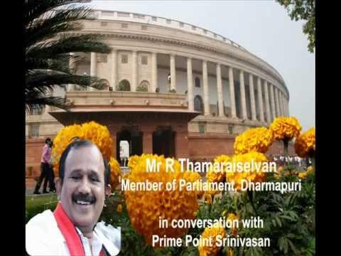 Interview With Top Performing Tamilnadu Mp Thamaraiselvan Of Dharmapuri video
